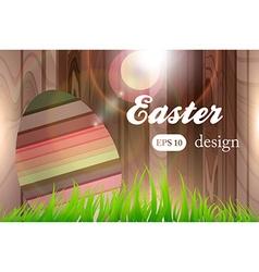 Easter design vector
