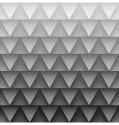 Texture of triangles vector image vector image