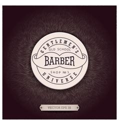 Background design for Barbershop vector image