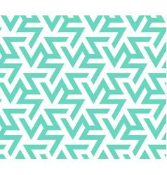 Color 2020 neo mintemerald turquoise zigzag vector