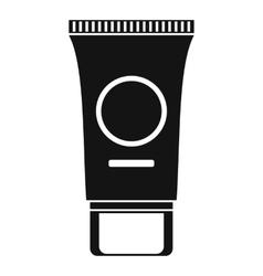 Cosmetic cream tube icon simple style vector