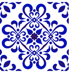 decorative tile pattern vector image