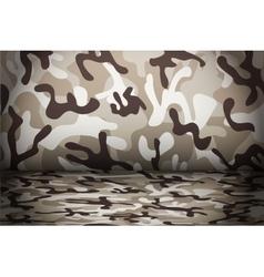Desert Camouflage background vector