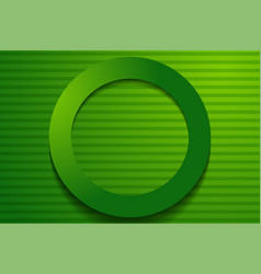 Modern green backgrounds 3d colorful overlap vector