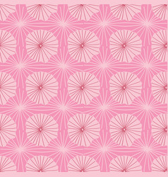 Pink seamless repeat pattern of abstract vector