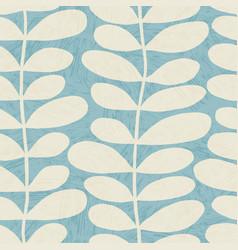 Seamless scandinavian design leaves vector