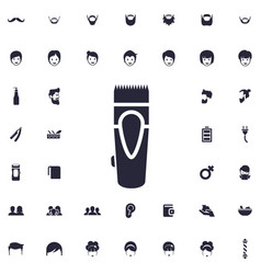 Trimmer icon vector