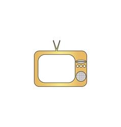 TV computer symbol vector