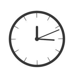Watch clock icon vector