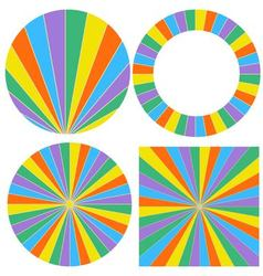 template wheel of fortune vector image vector image