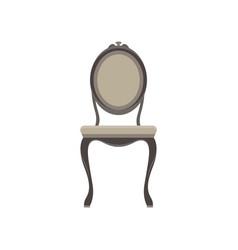 chair classic furniture icon set design retro vector image