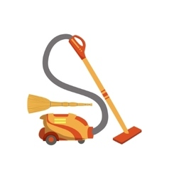 Floor CleaningHousehold Equipment Set vector image