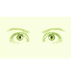 patterns eye vector vector image