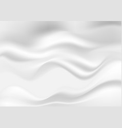 abstract white gray smooth liquid waves background vector image