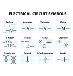 Electronic symbol vector
