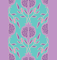 Floral pattern for textile vector