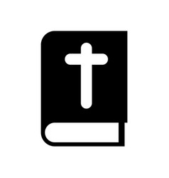 Isolated bible icon vector