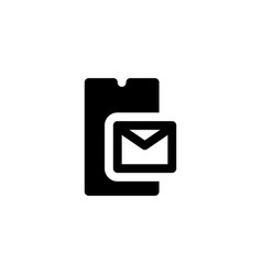 mail letter icon vector image