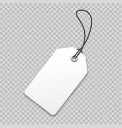 realistic price tag special offer or shopping vector image