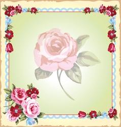 Victorian floral handkerchiefs vector