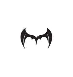 wing bat logo and symbols template icons vector image