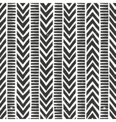 hand drawn tribal pattern Seamless vector image