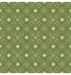 seamless pattern with spears arrows and symbols vector image vector image