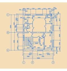 plan of house vector image vector image