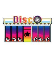 A CD store vector image vector image