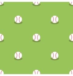 Baseball Seamless Pattern Sport Background vector image vector image