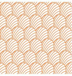 Art deco vintage shell geometric seamless vector
