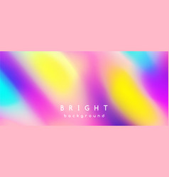 bright multicolor background blurred spots vector image