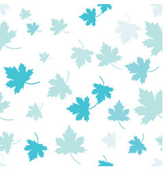 maple leaf seamless vector image