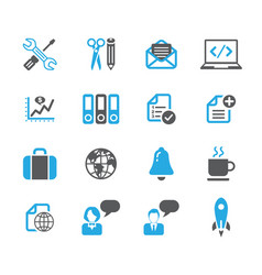 media icon sets vector image