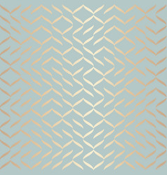 seamless geometric golden element pattern vector image