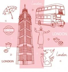 Symbols london vector