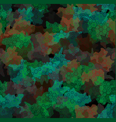 texture military futuristic camouflage seamless vector image