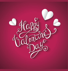 Valentines day background hand drawing vector