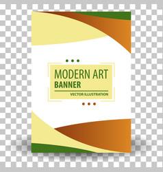 website header or banner vector image