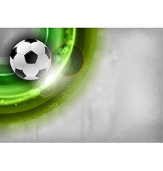 football background green vector image vector image