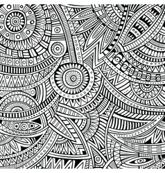 Abstract tribal ethnic background pattern vector