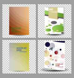 Business presentation templates infographic vector