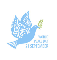 dove peace vector image