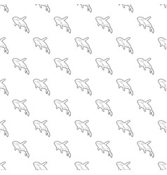 grampus pattern seamless vector image