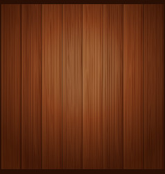 Wood board wall vector