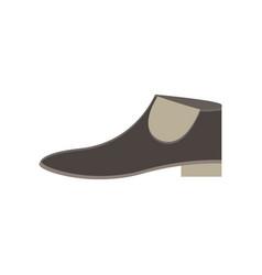 boots flat icon decoration design elegance icon vector image