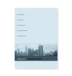 Leaflet Brochure Flyer template design business vector image