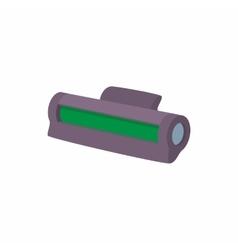 Printer toner cartridge icon cartoon style vector
