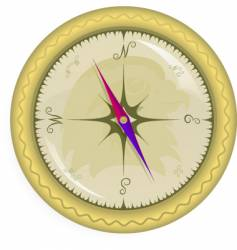 compass map vector image vector image