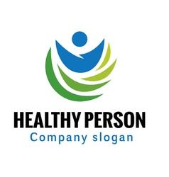 Healthy Person Design vector image vector image